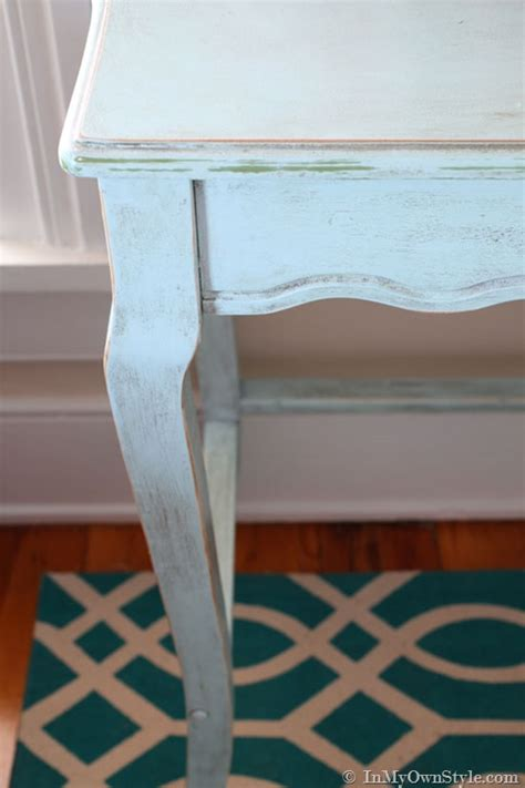 diy chalk paint furniture how to a family affair diy chalk painted desk in my own style