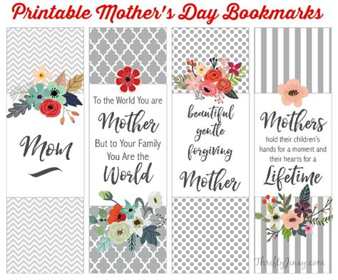 mothers day picture books s day books will printable bookmarks