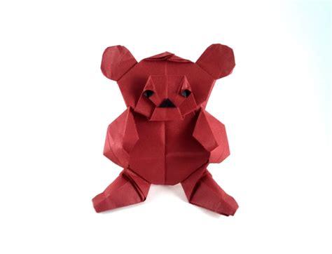 origami teddy nicolas terry gilad s origami page