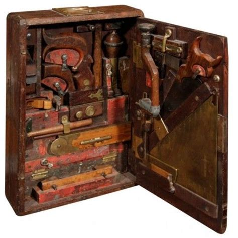 woodworkers tool box antique tool tool chest tool box