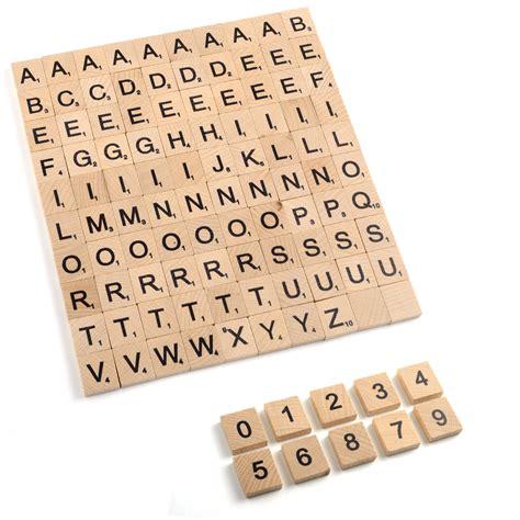 spare scrabble tiles uk wooden wood alphabet scrabble tiles board crafts100