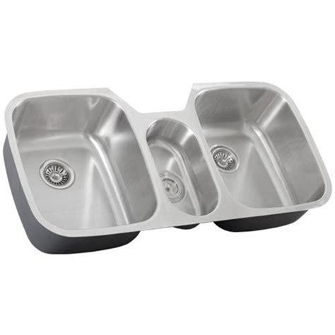 3 bowl kitchen sink undermount 43 inch stainless steel undermount bowl kitchen