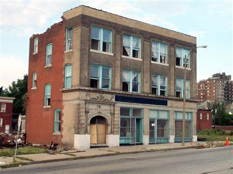 three story building vanishing stl gaslight square part two