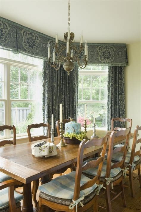 valances for dining room inverted pleat valance bay window treatment inspiration bay window treatments