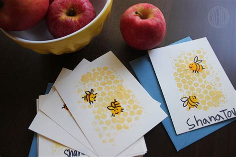 rosh hashanah crafts a rosh hashanah craft for that s sweet indeed