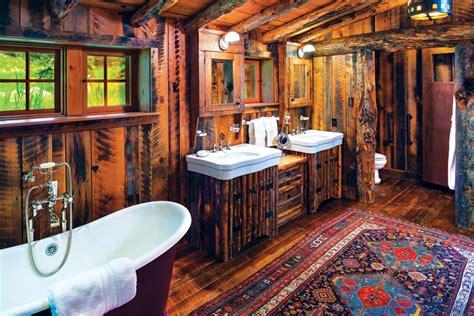 cabin bathroom designs 10 cozy and rustic bathroom designs