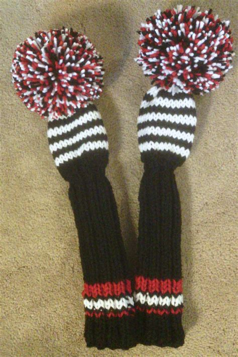knit golf club headcovers golf club covers knit