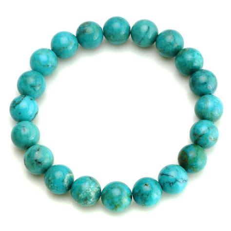 bead stretch bracelet turquoise bead stretch bracelet bohemian jewelry