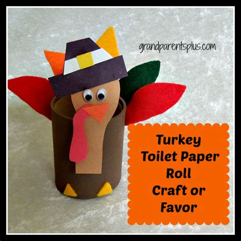 toilet paper turkey craft october 2012 grandparentsplus