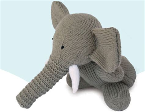 knitted elephant free pattern knitted elephant children s free pattern craftfoxes