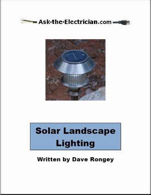 landscape lighting book solar landscape lighting book