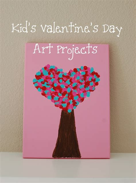 valentines craft projects kid s s day projects i think i can do this