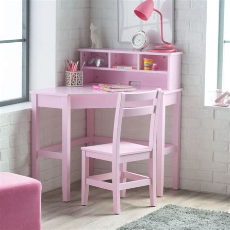 Bedroom Desk And Chair Set by Corner Desk And Chair Set Pink Bedroom Shelves