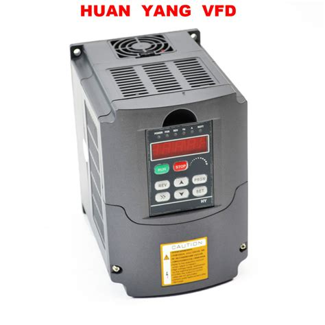 Motor 4kw 220v by 4kw 220v Variable Frequency Drive Inverter Vfd New 5hp