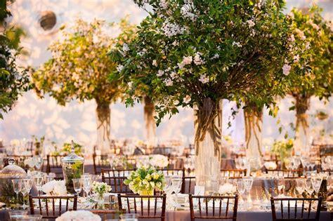 tree wedding centerpieces reception d 233 cor photos greenery tree like wedding