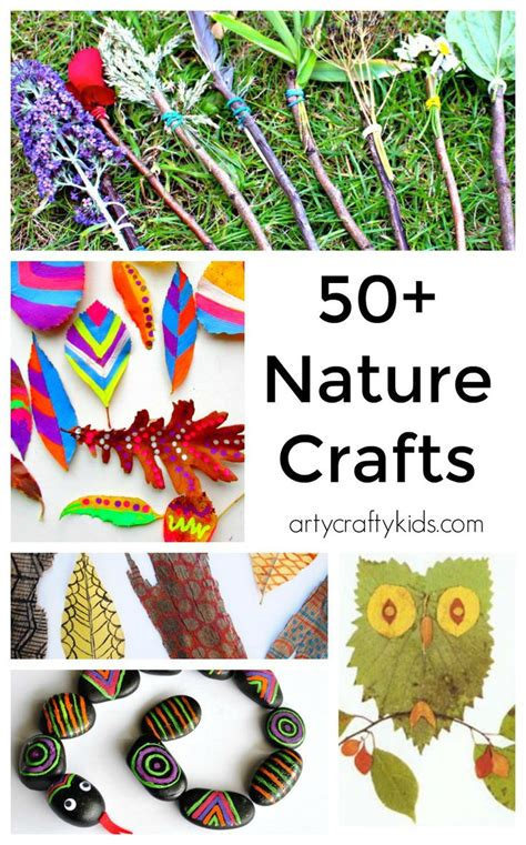 25 Best Ideas About Nature Crafts On