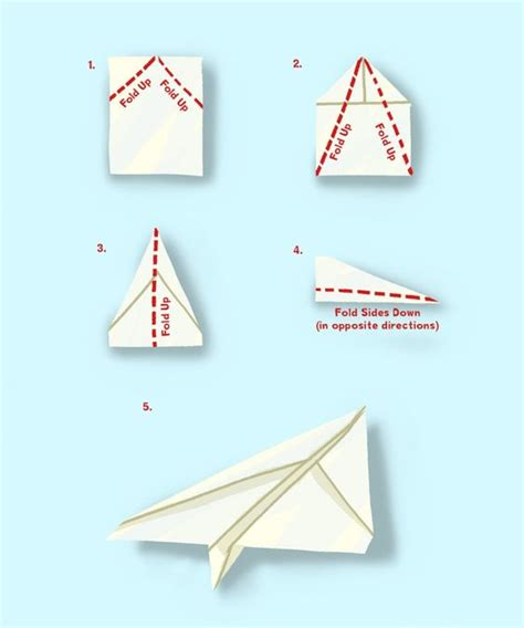 simple origami airplane simple paper plane kid s crafts looks