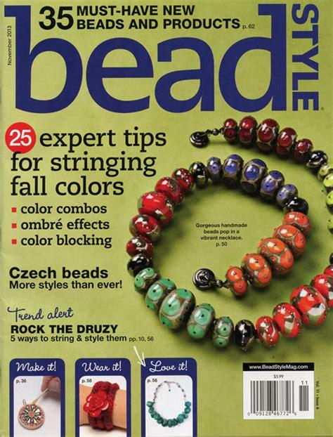 bead style magazine in the press bead style magazine nunn design