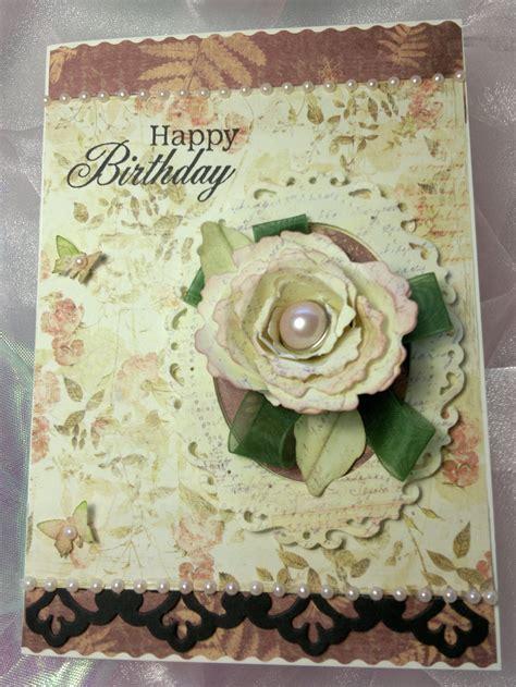 vintage card ideas vintage style birthday card