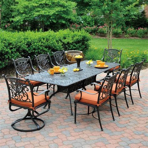 tuscany patio furniture grand tuscany dining