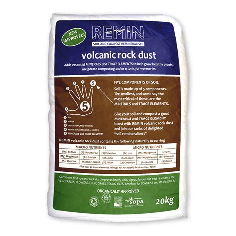 rock dust garden rock dust for garden remin volcanic rock dust 20kg