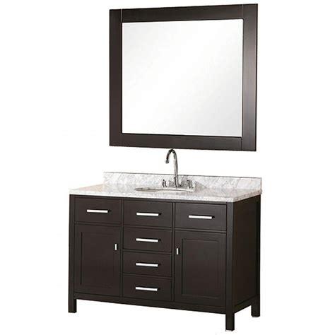 home depot bathroom vanities 48 design element 48 in w x 22 in d vanity in