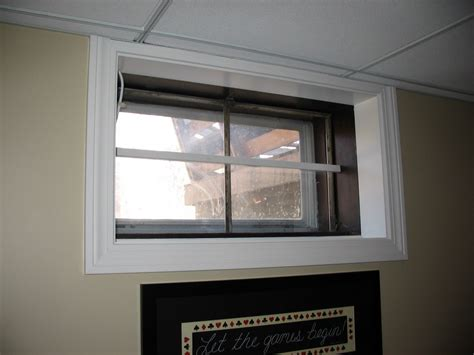 Basement Window Treatment basement remodeling ideas basement window treatments