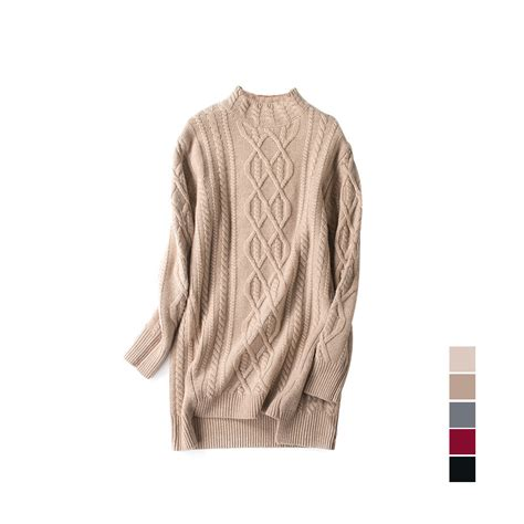 cheap cable knit sweaters get cheap cable knit tunic sweater aliexpress