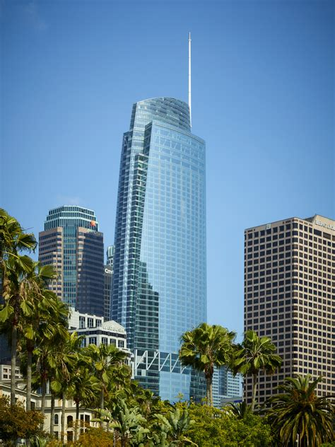 intercontinental la wilshire grand s intercontinental hotel opening july 2