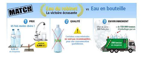 L Eau Du Robinet by Eau Du Robinet Vs Eau En Bouteille Le Ecoco2