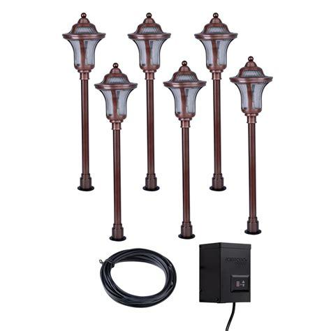 low voltage landscape lighting kits enlarged image