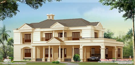style home designs 4 bedroom luxury house design kerala home design and floor plans