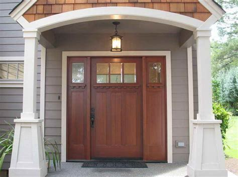 style front door arts and crafts doors craftsman style doors mission