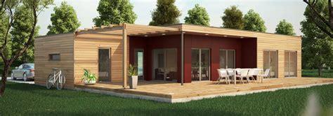 maison ossature bois contemporaine t4 80 224 91m2