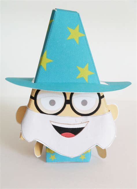 wizard crafts for easy paper craft wizard tutorial imagine forest