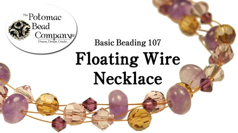 where can i buy to make jewelry make a floating wire necklace