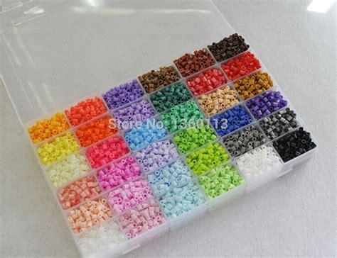 beading kit 5mm perler 36 colors 11500pcs box kit 1 big