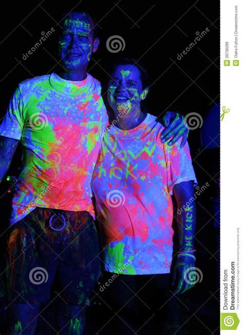 Neon Colour Splashed At Glow Run Port Elizabeth In