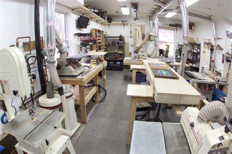 home woodworking shop tours sam s garage woodshop the wood whisperer