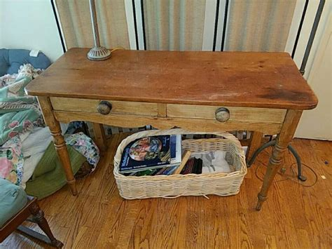 primitive sofa table vintage country style primitive sofa table with