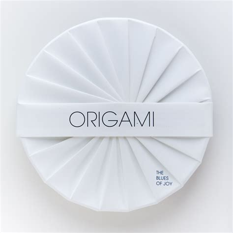 A History Of A History Of Origami Cd Packaging