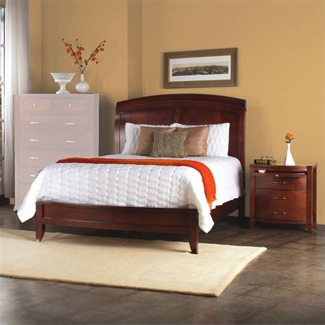 low profile bedroom furniture modus furniture brighton wood low profile sleigh bed 3