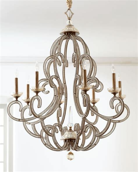 horchow chandeliers richard collection quot beaded elegance quot chandelier