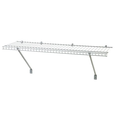 Closetmaid 3 Foot Wire Utility Shelf Shop Closetmaid 3 Ft X 12 In White Wire Shelf At Lowes
