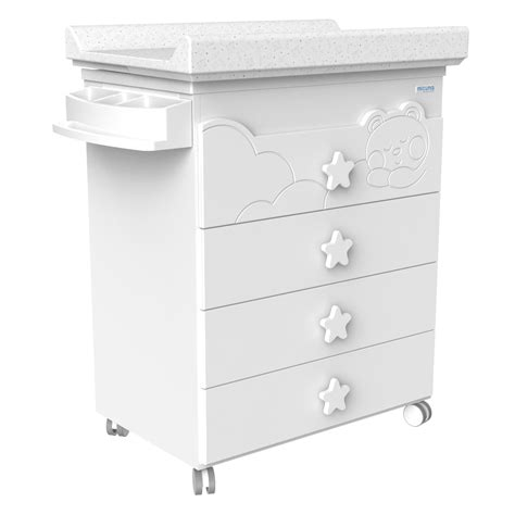 white baby change table with drawers baby change table with bath quot dolce luce quot white co