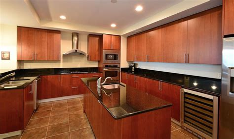 cherry kitchen cabinets with granite countertops 23 cherry wood kitchens cabinet designs ideas