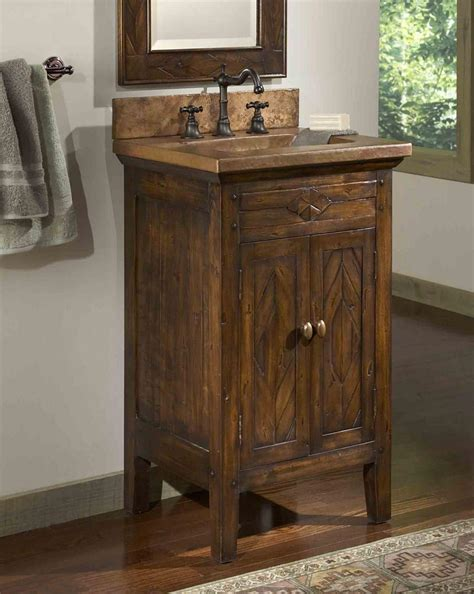 rustic vanities for bathrooms best 25 country bathroom vanities ideas on