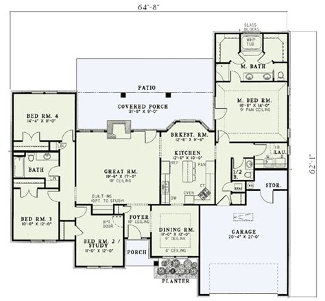 split bedroom house plans style split bedroom house plan 5900nd 1st floor
