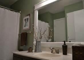 mirror frames for bathroom dwelling cents bathroom mirror frame