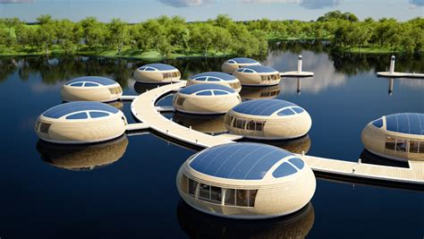 floating houses floating house waternest 100 by giancarlo zema